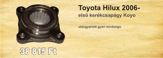 Toyota első kerékcsapágy Koyo sárga 863055